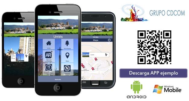 App turismo sostenible , descarga la muestra como ejemplo.
